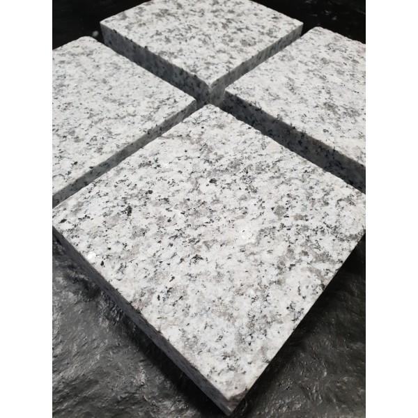 Trinkelės Pearl granito degintos 10x10x3 cm, m2