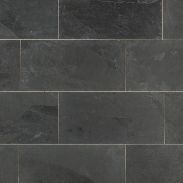 Skalūno plytelės Monte Black natural 30x60x1cm, m2