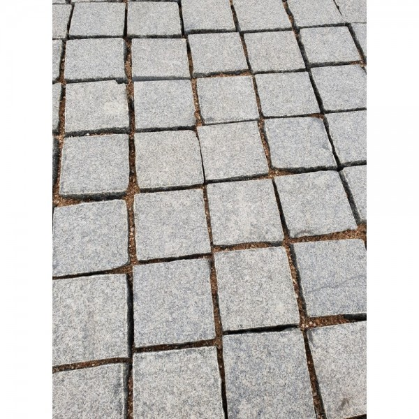 Trinkelės degintos granito Dark (KP) ~10x10x5 cm, m2