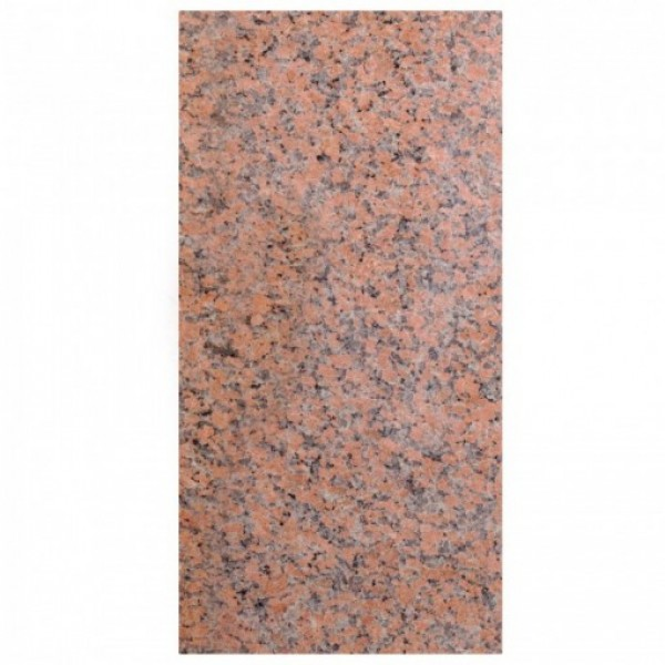 Red granite poliruotas 30,5x61x1 cm, m2