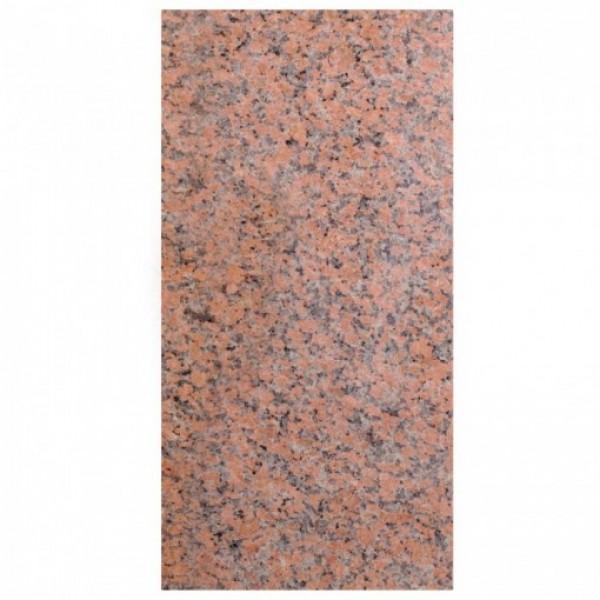 Red granite poliruotas 30,5x61x1 cm, m2