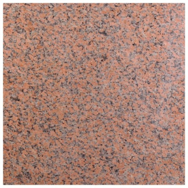 Red granite poliruotas 60x60x2 cm, m2