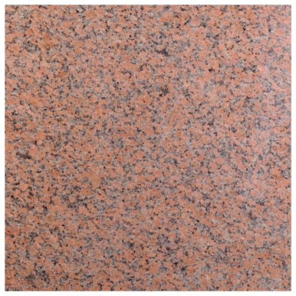 Red granite poliruotas 60x60x2 cm, m2