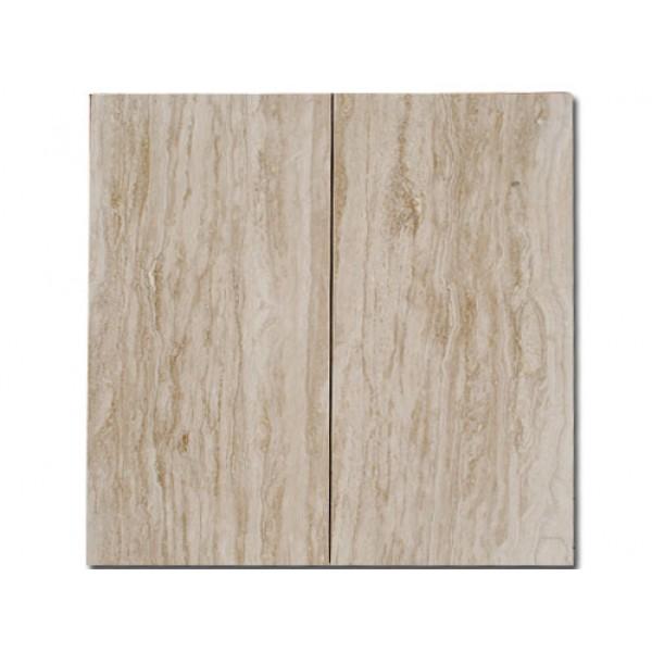 Travertino plytelės Classic, poliruotos VEIN CUT 30,5x61x1,2 cm, m2