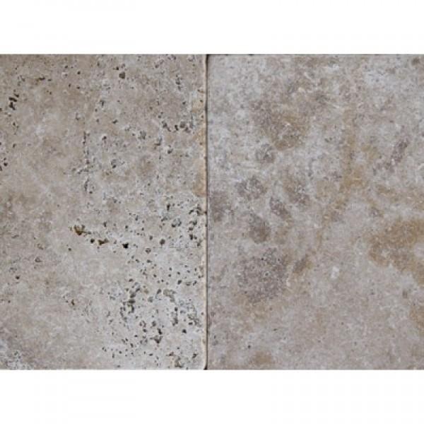 Travertino plytelės GEA, be užpildo, sendintos 40,6x61x1,2 cm, m2
